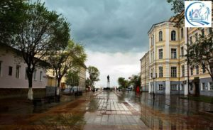 Old streets of Orenburg