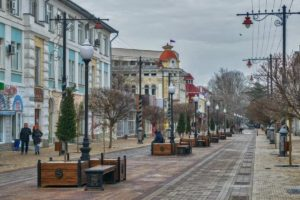 Old streets of Simferopol