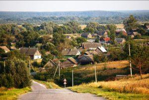 Villages of the Bryansk region